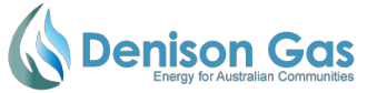 Denison Gas Banner