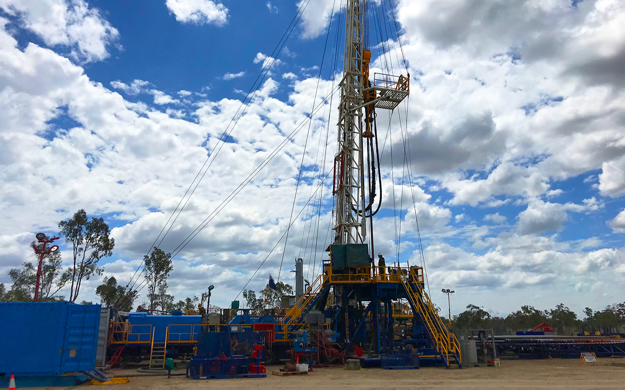 Media Release Denison Gas Awarded 100% Interest in New Block and Commences New Drilling Program