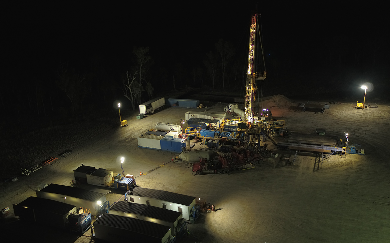 Media Release Denison Gas Completes First Well of New Drilling Program