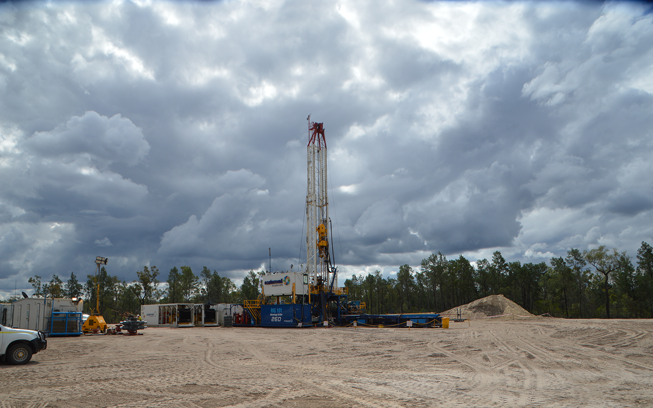 Media Release Denison Gas Commences New Drilling Program